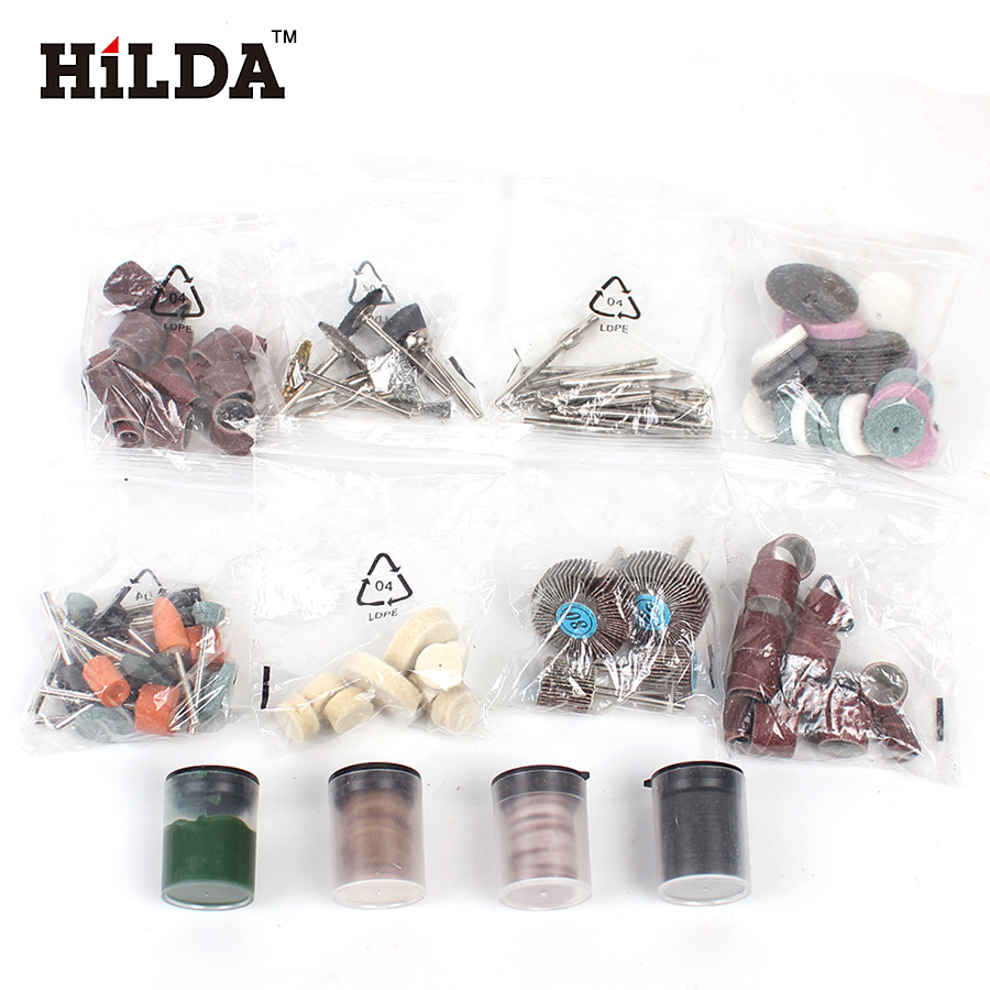 HILDA 248PCS Akcesoria do narzędzi obrotowych do łatwego cięcia - Akcesoria do elektronarzędzi - Zdjęcie 3