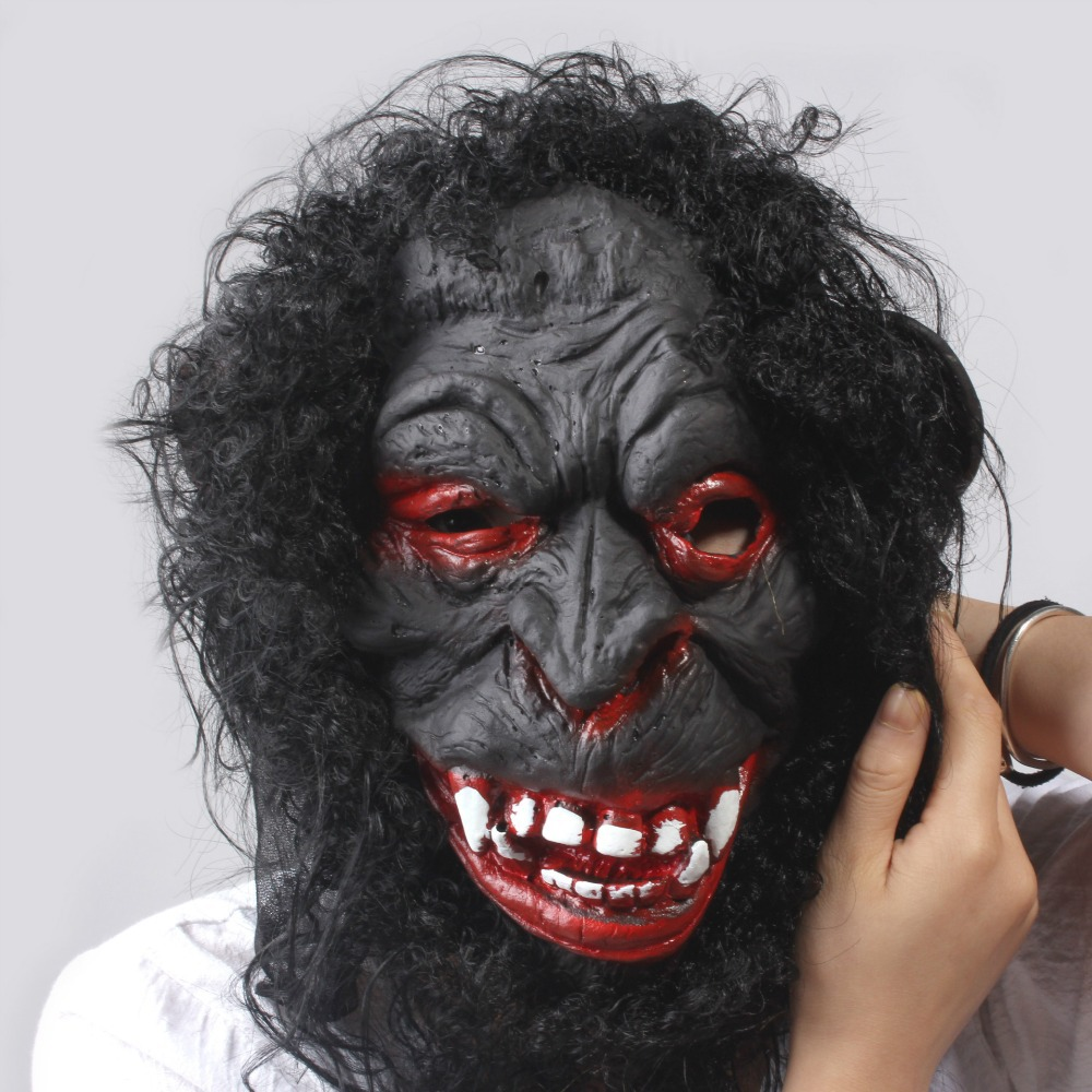 Online Shop Ner Arrival Gorilla Mask Halloween Horror Masks Latex ...