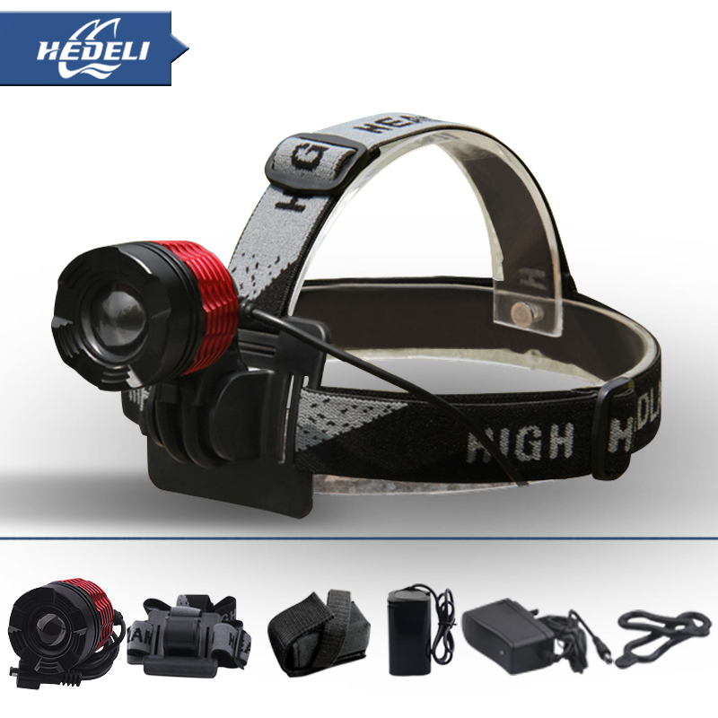 2000 Lumens Headlamp Camping Head Lamp Cree XPL T6 Led Lights Torch Flashlight Lampe Frontale Bike Bicycle Headlight 3 t6 headlamp 3x xm l t6 led headlight 10000 lumens head lamp flashlight lampe frontale lanterna headlamp 90 degree night light