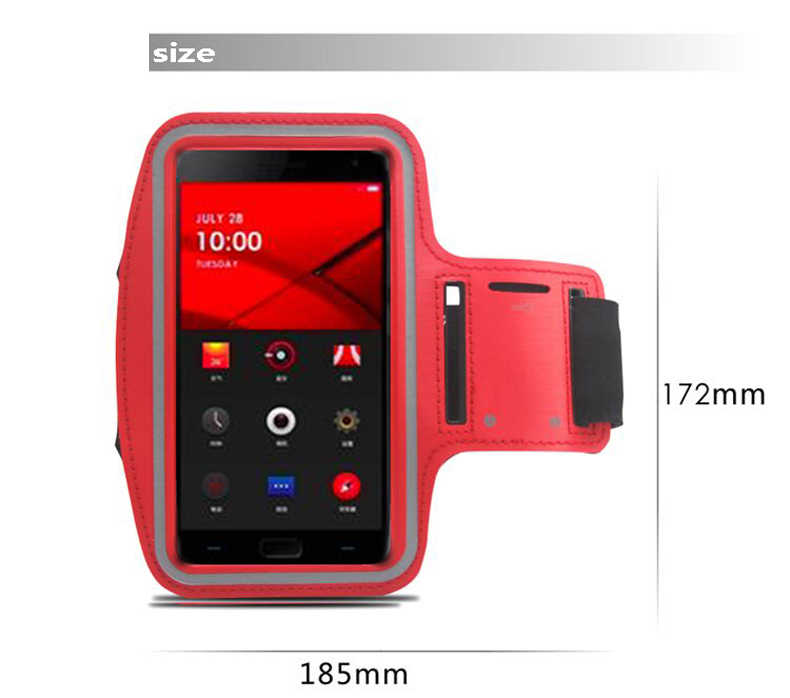 Waterproof Sport Running Arm Band Case For One Plus 1 OnePlus 2 3 5 5T X Gym Mobile Phone Arm Holder Belt Leather Cover