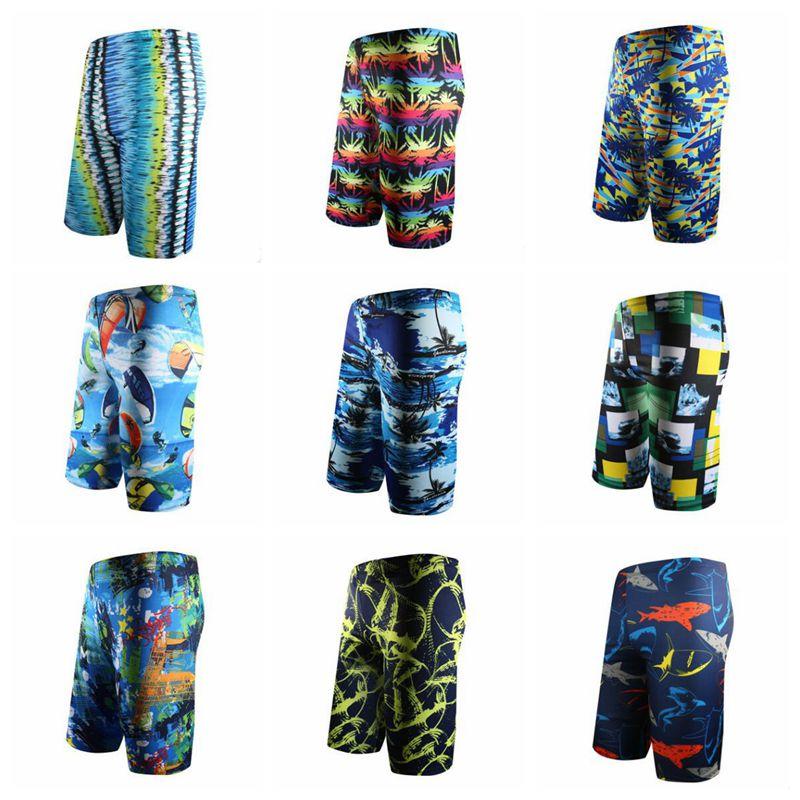 Qrxiaer Sunshine Beach ventilate Breathe   Board     Shorts   Summer Beach Quick Drying Long Swimming pants Male   Shorts   for men