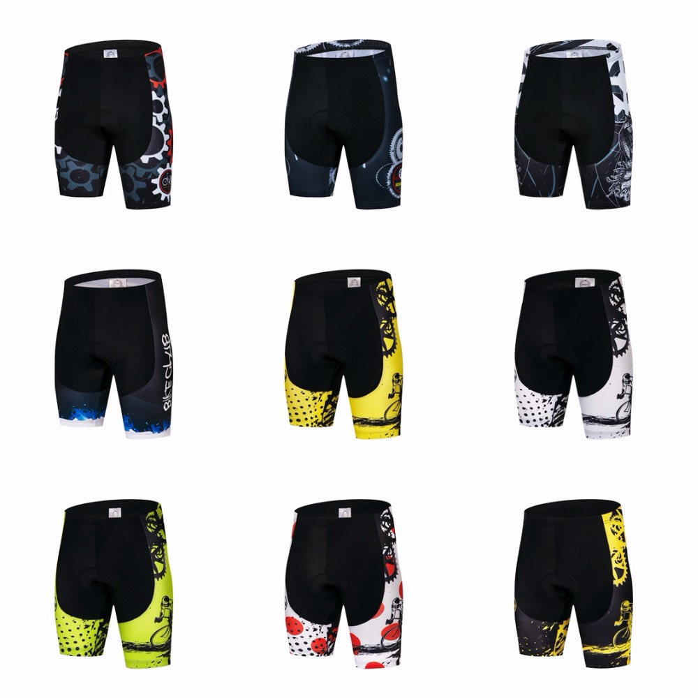 2019 Cycling Shorts Men's Bike Short Padded Pro Team MTB  Bicycle Bottom Road Mountain Shorts  Green Red Outdoor Sports Wear