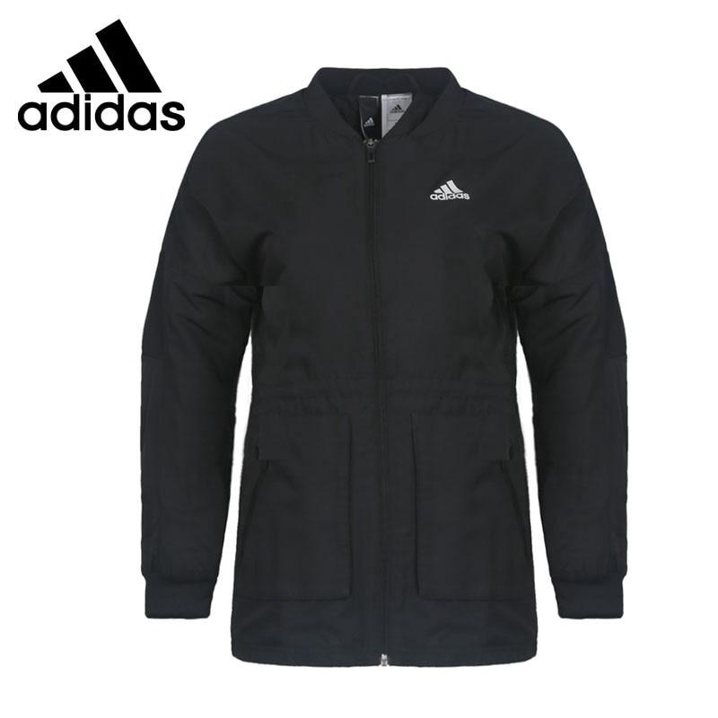 Original New Arrival 2017 Adidas  MV JKT WV LONG Women's jacket  Sportswear adidas original new arrival official neo women s knitted pants breathable elatstic waist sportswear bs4904