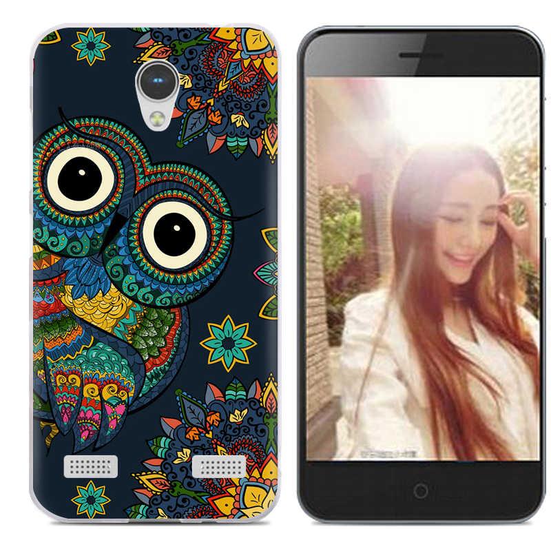 Прямая доставка ТПУ мягкий чехол для телефона для ZTE Blade A520 диагональю 5 дюймов с модным узором разноцветный окрашенный