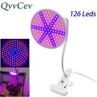 LED Grow Light E27 Plant Flower Lighting Bulbs Hydroponics Flexible Desk Lamps Holder Clip For Indoor