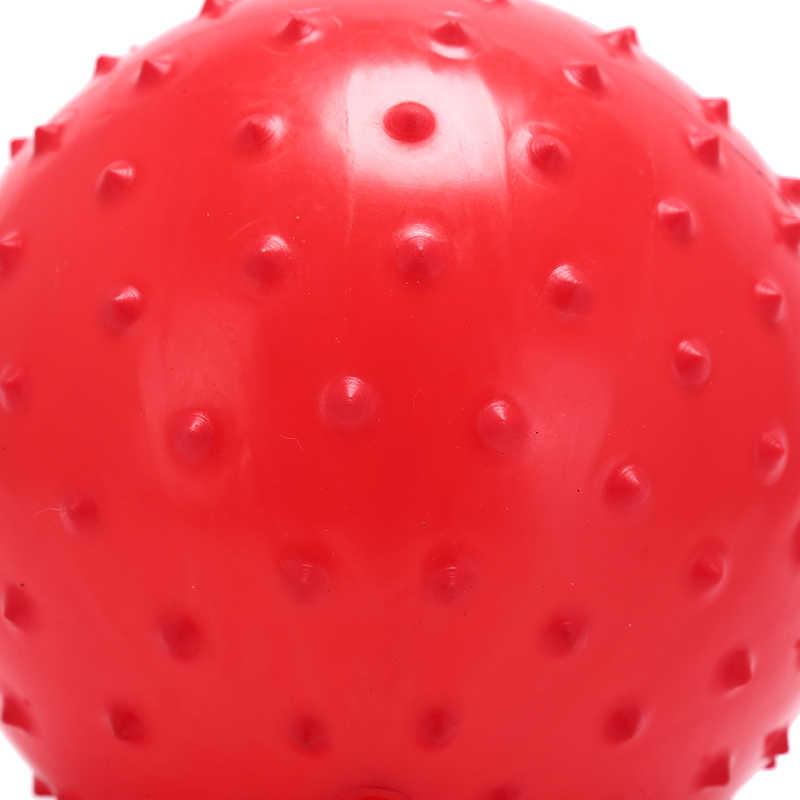 Juguetes Divertidos para niños, 1 Uds. 22cm, pelota suave de masaje sensorial para bebés, juego de playa, Balón de juguete inflable, juguete interesante para niños