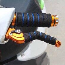 Ручка для мотоцикла, велосипеда, гоночного велосипеда, нескользящая губчатая накладка, мягкий руль для велосипеда