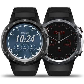 Zeblaze THOR 4 Plus Flagship Smartwatch 4G Phone Watch GPS Smartwatch Men Android 7.1 5.0MP Camera 580mAh Large Capacity Amoled g6 tactical smartwatch