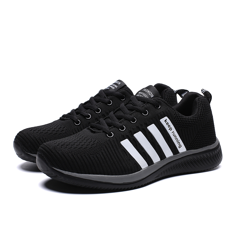 HTB1IQcQRq6qK1RjSZFmq6x0PFXaS 2019 Fashion Men Casual Shoes Lac up Men Mesh Shoes Lightweight Comfortable Breathable Walking Sneakers Tenis Feminino Zapatos