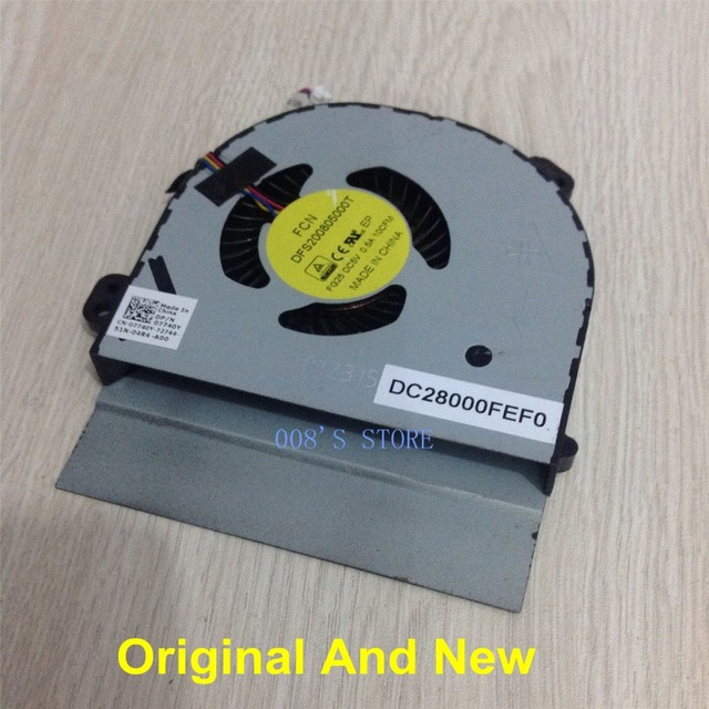 Brand New And Original CPU Fan For DELL Alienware M17X R2 FORCECON DFS200805000T FG25 DC 5V 0.5A 10CFM DC28000FEF0 DP/N 07740Y