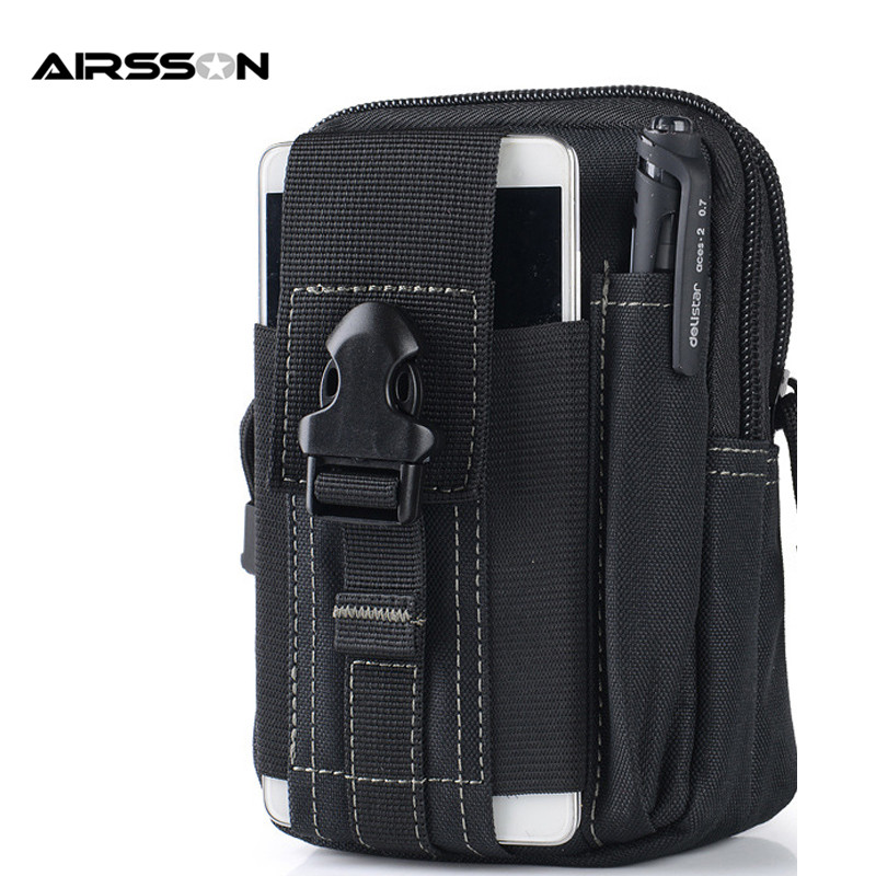 Universal Tactical Molle EDC Utility Pouch Gadget Belt Waist Bag Pack Outdoor Sport Waterproof Cases Pouch For Phone Key