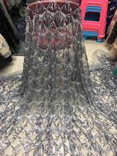 2019 Latest French Nigerian Laces Fabrics High Quality Tulle African Laces Fabric Wedding African French Tulle Lace DYS197 2019 latest french nigerian laces fabrics high quality tulle african laces fabric wedding african french tulle lace dys197