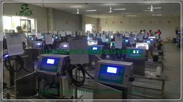LX-PACK کمترین قیمت کارخانه قیمت چاپگرهای جوهر افشان صنعتی کدگذاری مارک سیستم های جوهر جت امضای چاپ چاپ بدون تماس