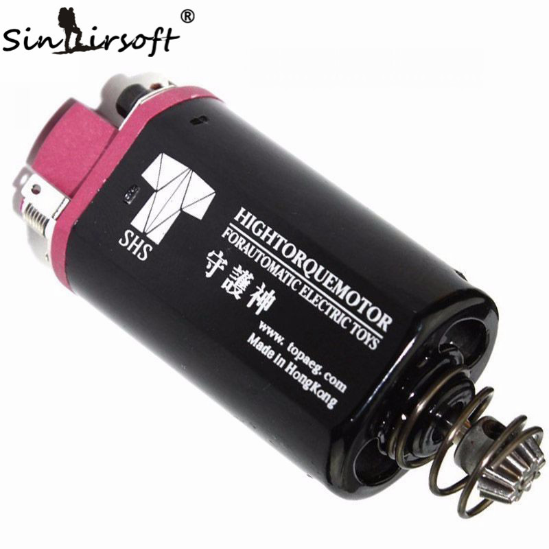 sinairsoft element ultra torque motor high torque type strong magnet for airsoft m16 m4 mp5 g3 p90 aeg motor g SINAIRSOFT SHS Toys High Torque AEG Motor Short Axle type for Airsoft AK PTS ACR G36 AUG Airsoft Ver.3/7 Gearbox