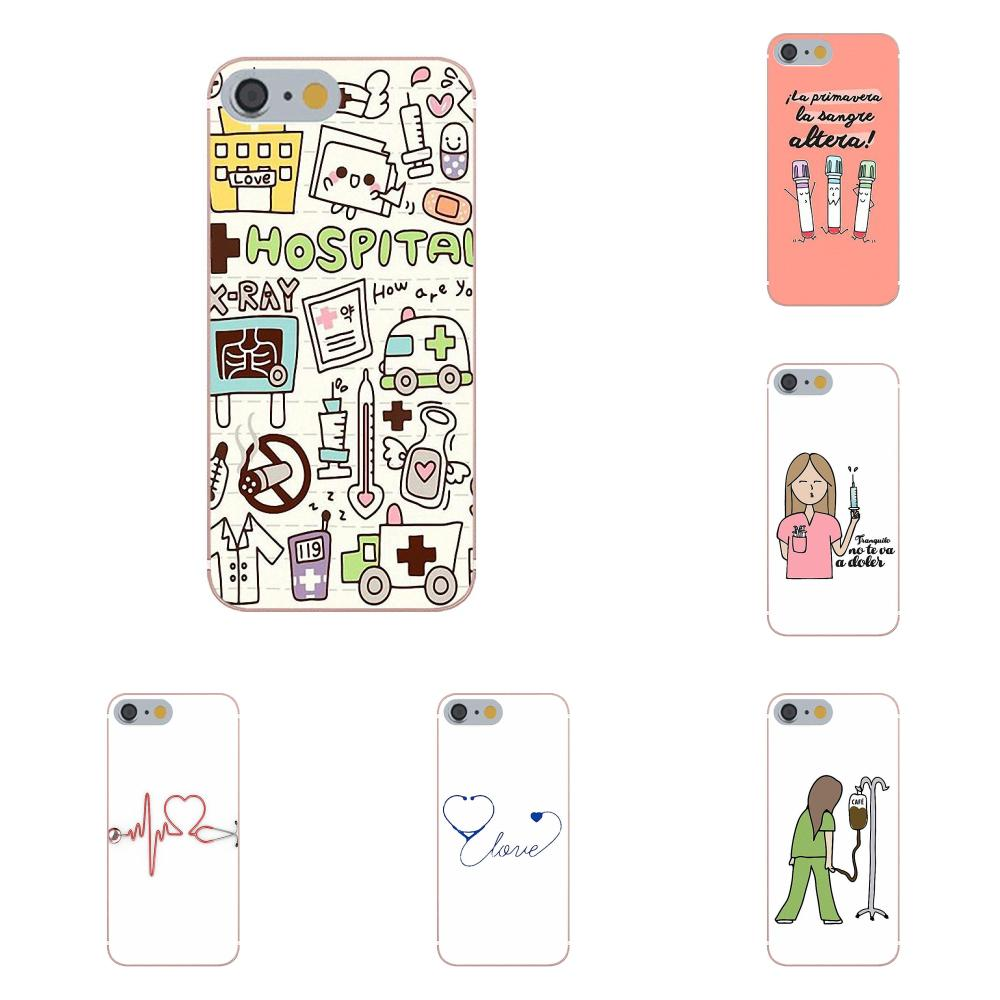 Fitted Cases Nice Cute Love Medical Stethoscope Doctor Transparent Tpu Doctor Cartoon Devices High Quality Phone Case Phone Cover For Xiao Mi5 5s Reasonable Price Phone Bags & Cases