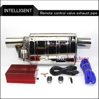 Exhaust System Stainless Steel Electric Exhaust CutOut Valve With Electronic Remote Control Switch Muffler exhaust pipe