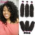 3 Bundles Indian Virgin Hair Water Wave Wet And Wavy Virgin Cheap 7A Indian Hair Water Wave Virgin Hair Curly Human Hair Bundles