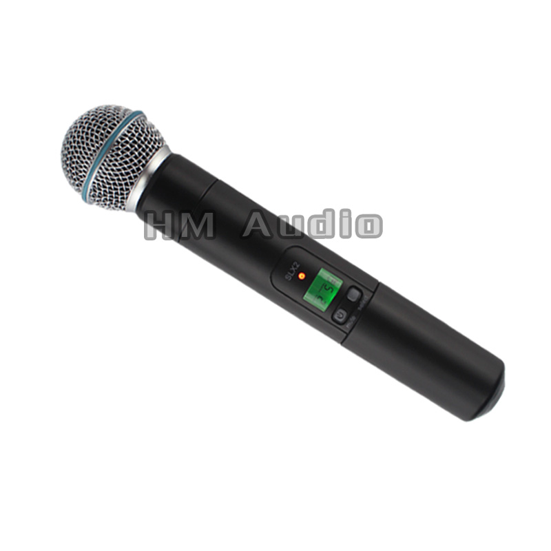 UHF Wireless Microphones only one microphone no Receiver SLX high end uhf 8x50 channel goose neck desk wireless conference microphones system for meeting room