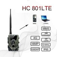 4G Trail Camera Wildlife Hunting Surveillance Cameras HC 801LTE 16MP 0.3S Trigger Infrared With Antenna Wild cam Cameras