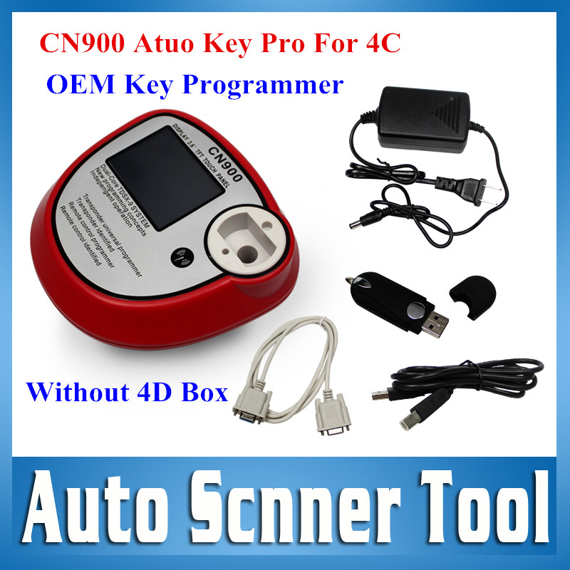 Top Rated OEM CN900 Key Programmer New Auto Chip Key Copy Machine Support Mulit-Brands Copy 4C Chips Remote Control Identified