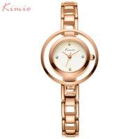 KIMIO Women Watches Dress Ladies Quartz Watch Fashion Brand Female Bracelet Watches Steel Wristwatch 2017 Hot