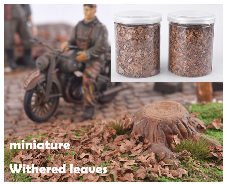 Miniature  Withered Leaves  Building Model Materials  Defoliation Effect In DIY Sand Table Scene
