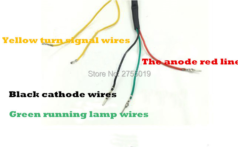 Motorcycle Tail Light Wiring Diagram | Wiring Diagram on