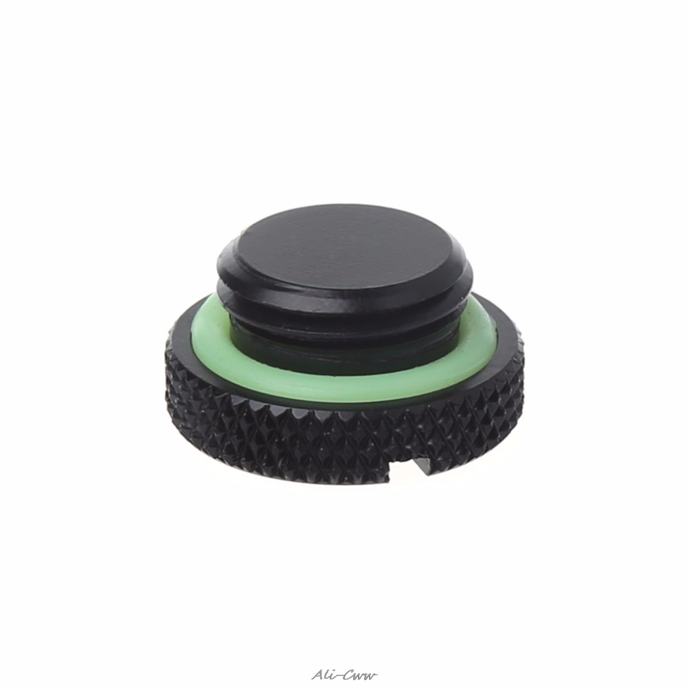 1Pc Standard Thread Mini G1/4 Smooth Water Stop End Cap Plug For Computer Water Cooling System Sealing Up High Quality