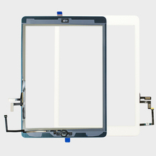 """20Pcs/lot Replacement 9.7"""" Touch Digitizer Glass for ipad Air 1st Genreation With Home Button A1474 A1475 A1476"""