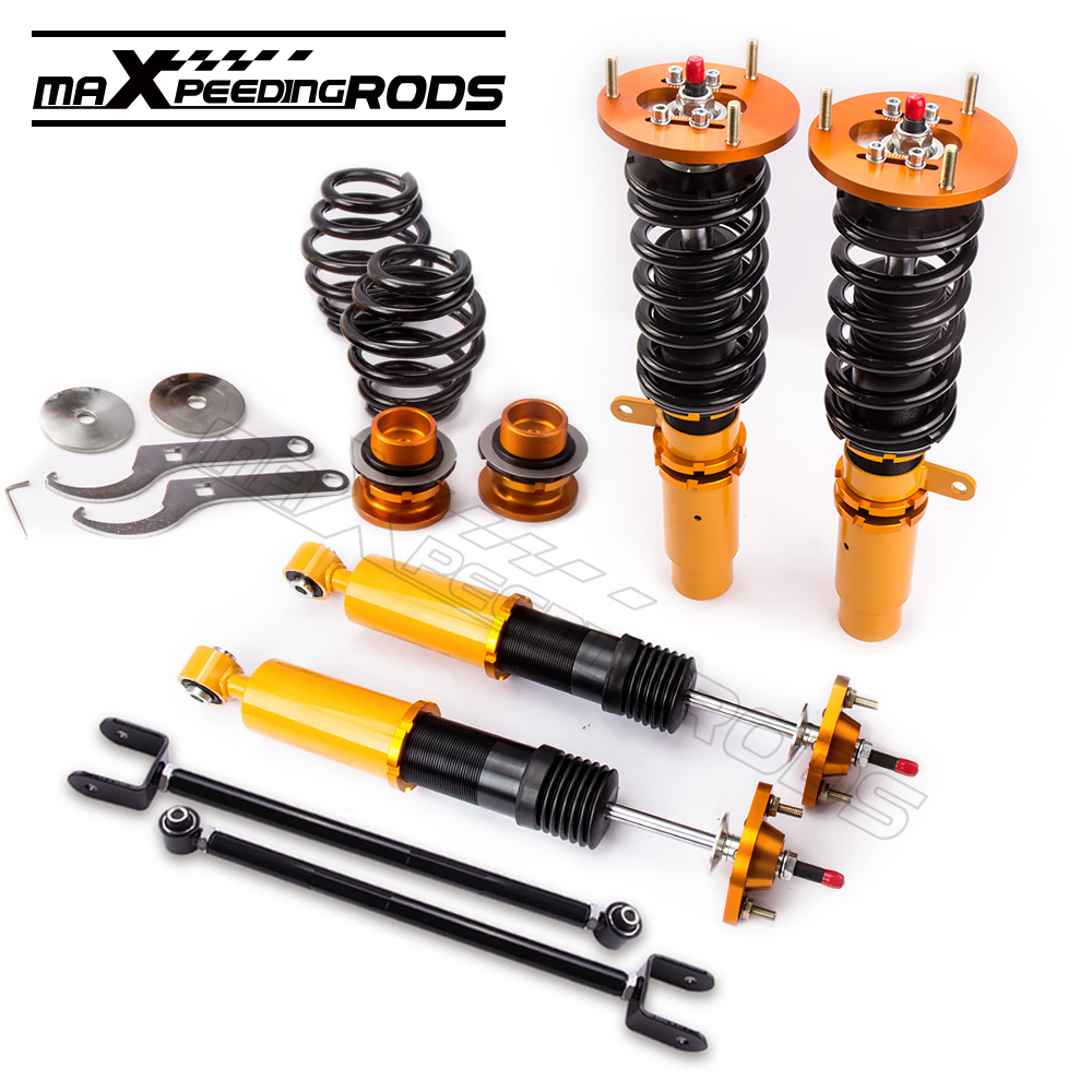 24 Ways Damper Coilover for BMW E46 3 Series 320i 323i 325i 328i 330i M3 316i/ti 318i/Ci/ti 320i/Ci 330xd 330d 330i Coilovers
