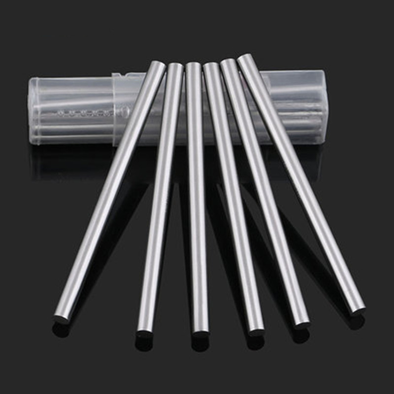 1mm 2mm 3mm 4mm 6mm 8mm 10mm 12mm Carbide Round Rod Tungsten Carbide Rod HRC45 High Wear Resistance Cylindrical Rod