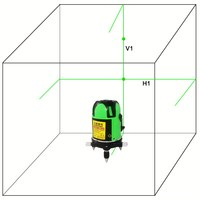 Laser Level 360 Rotary Auto Self Leveling Cheap New Mode 1V 1H Line Laser