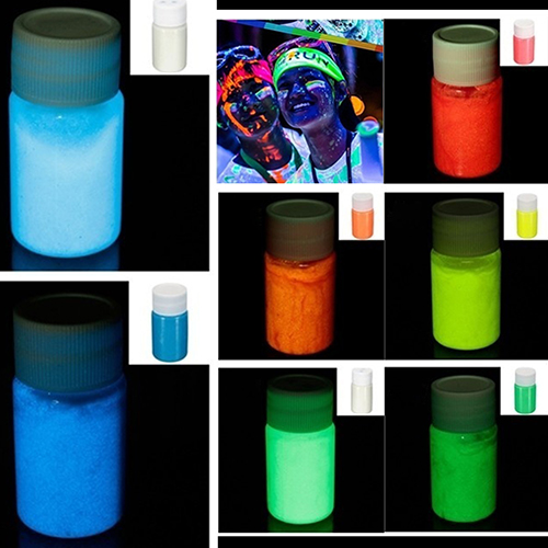 20ML UV Glow Face Body Luminous Paint Fluorescent 3