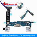 Original For Samsung Galaxy Note 4 N910F N910P N910T N910C N910A USB Charger Charging Port Dock Connector Home Button Microphone