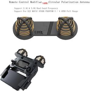Image 5 - Remote Control Modified Antenna 16 DBi Signal antenna For DJI mavic pro Air SPARK mavic 2 pro zoom Drone accessories