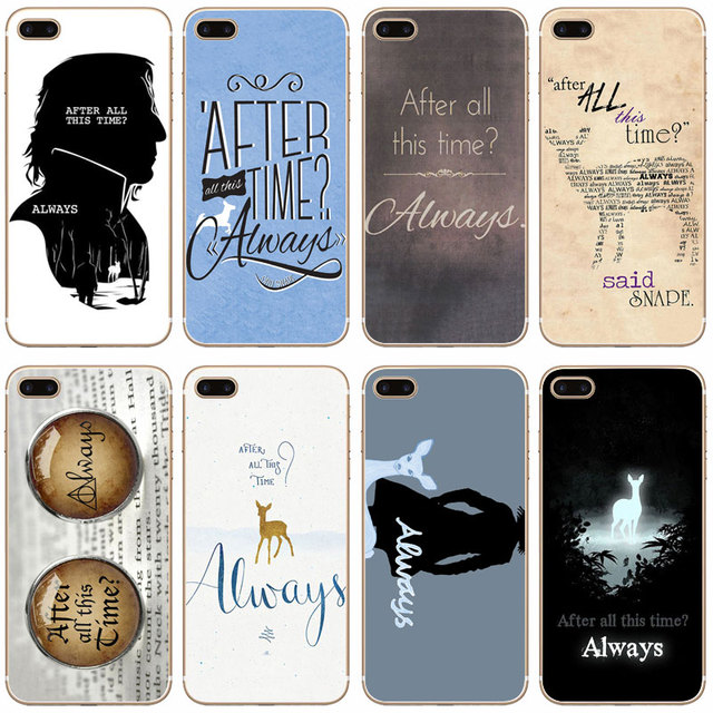 best website 1702e c0e82 US $1.58 |G18 All This Time Harry Potter Transparent Hard Thin Case Cover  For Apple iPhone XR XS Max 4 4S 5 5S SE 5C 6 6S 7 8 X Plus-in Fitted Cases  ...