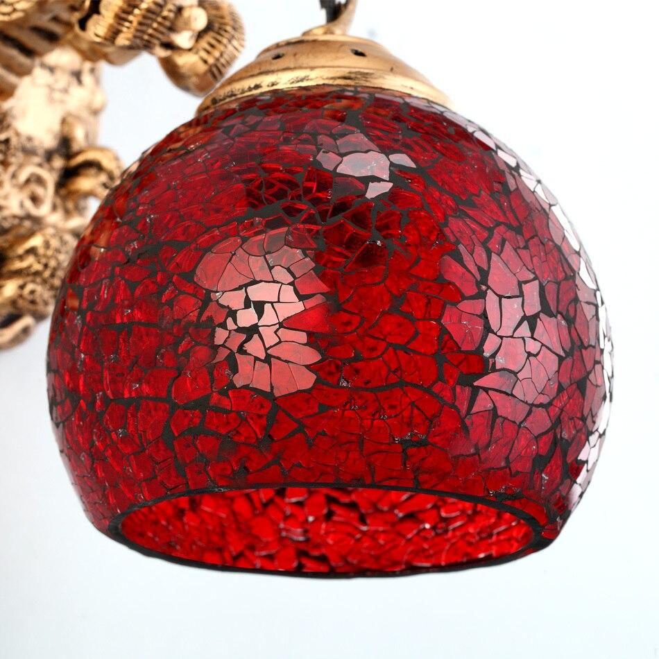 Wonderland Настенные светильники Китайский дракон мощная художественная настенная лампа для гостиной роскошное украшение для дома освещение н... - 5