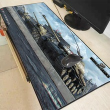 Mairuige 90X40CM World of Tanks Anime Gaming Large Locking Edge Mousepad L XL Game Customized Personalized Mouse Pad for CS GO
