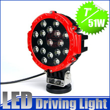 "5%off for 2 pc! 7"" 51W led working lights fixtures, pencil beam for 4×4 ATV SUV  Offroad truck outdoor lightis"