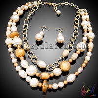 YULAILI Free Shipping African Costume Gold Color Fashion Women Accessories Jewelry Set