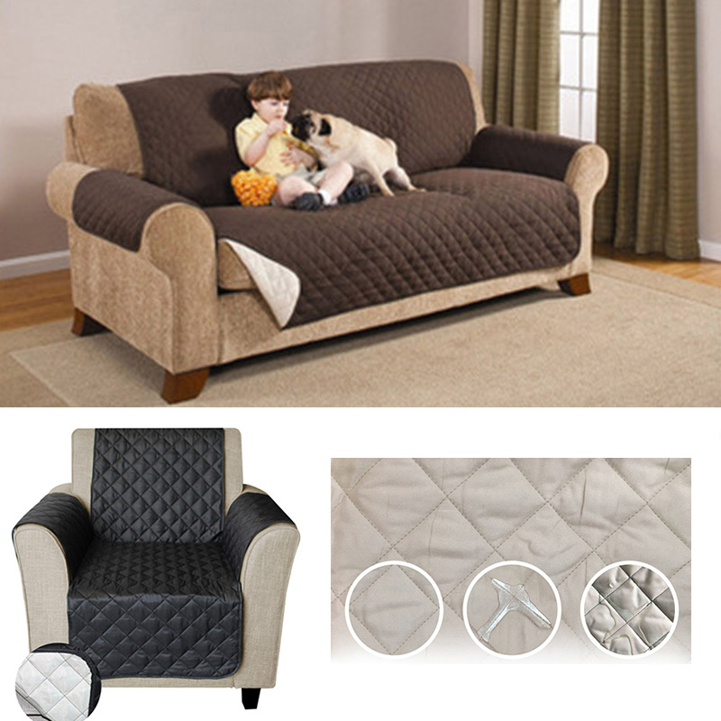 Fine Us 17 59 15 Off Waterproof Quilted Pet Dog Sofa Couch Covers Furniture Protector For Armchair Loveseat Sofa Chair Slipcovers For Pet Non Slip In Inzonedesignstudio Interior Chair Design Inzonedesignstudiocom