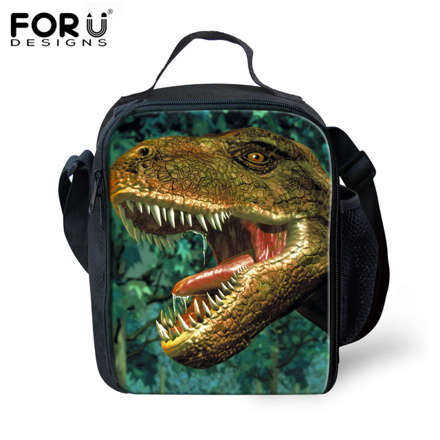 free shipping kids thermal lunch bags gifts for boys children lunchbox cool skull lunch bags 3d animal shoulder picnic lunch box