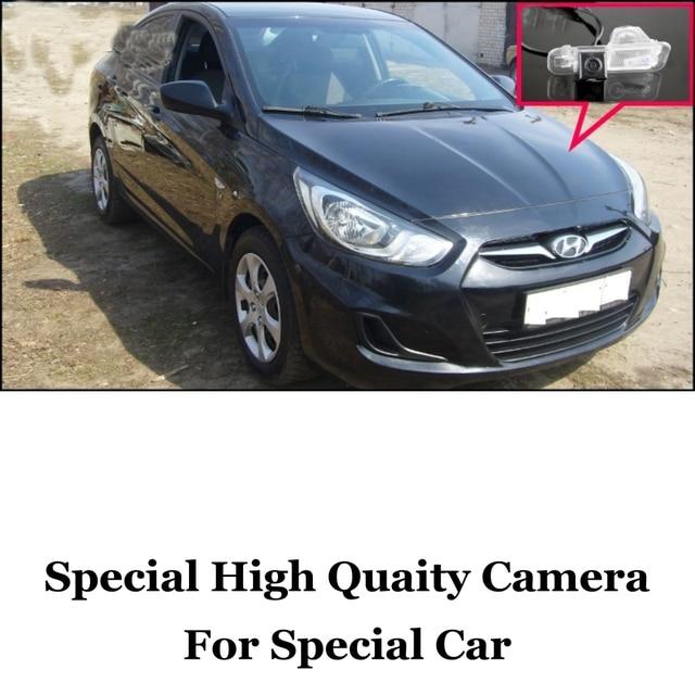 Car Camera For Hyundai Grand Avega / Solaris / Fluidic Verna Sedan High Quality Rear View Back Up Camera For Fans   RCA