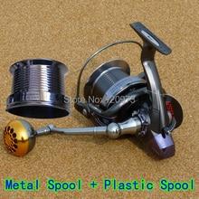 Surf Casting Reel FH8000 FH9000 FH10000 14BB Dual Spool Long Shot Wheel Metal Fishing Reel Salt