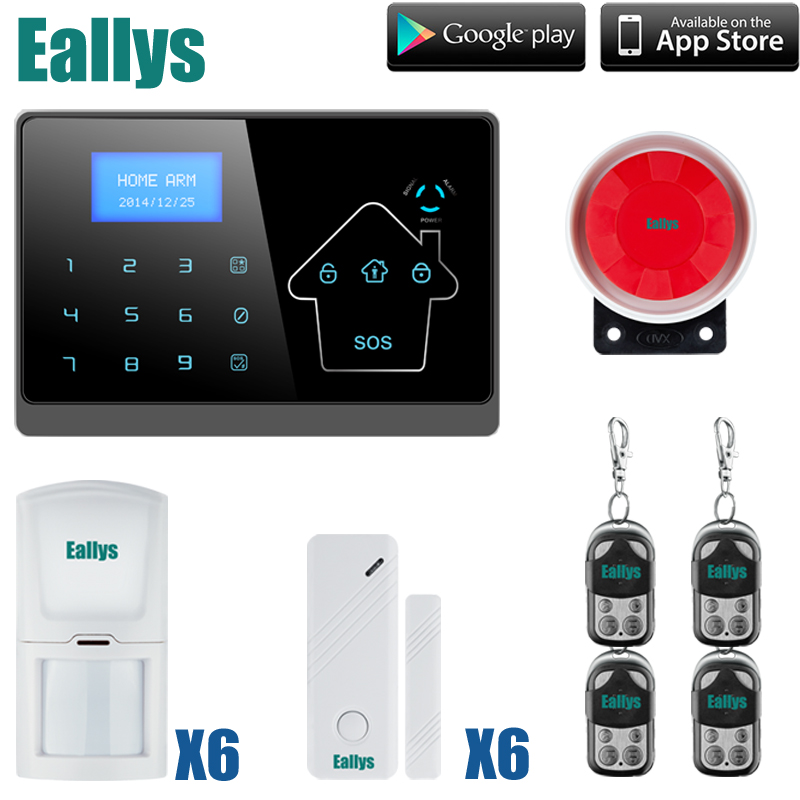 Free Shipping! Wireless GSM Alarm System Inturder Alarm System Touch Keypad smart gsm SMS home security alarm system free shipping wireless tcp ip gsm alarm system home security alarm system smart alarm system with external siren