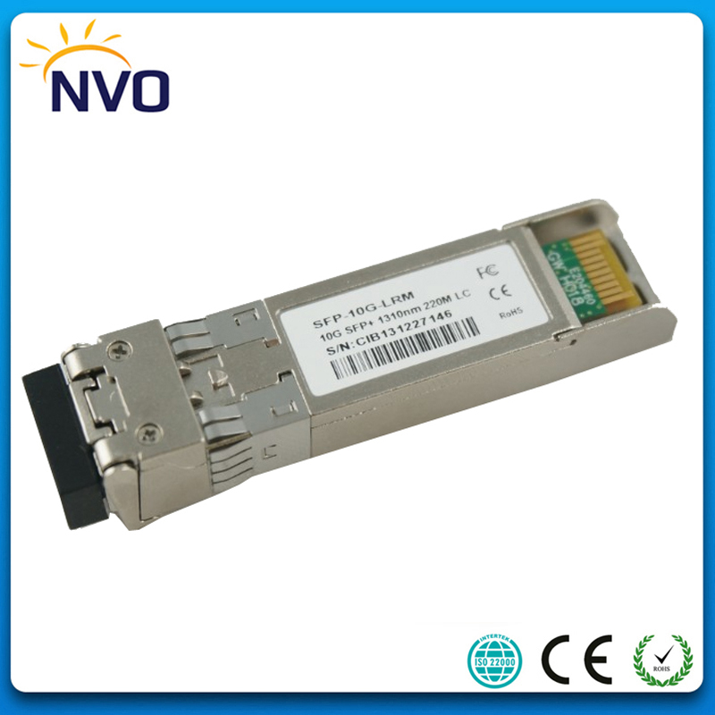 10Gb/s 10G-SFP+-LRM Multi Mode 10G 1310nm 220m LRM SFP+ Fiber Optic Transceiver with DDM Function10Gb/s 10G-SFP+-LRM Multi Mode 10G 1310nm 220m LRM SFP+ Fiber Optic Transceiver with DDM Function