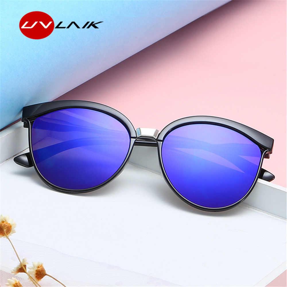 441474fbfc ... UVLAIK Vintage Cat Eye Sunglasses Women High Quality Brand Designer  Fashion Sun glasses for Men Retro ...