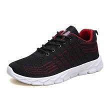 YeddaMavis Casual Mesh Sneakers New Shoes Men Lac-up Lightweight Walking Tenis Feminino Zapatos