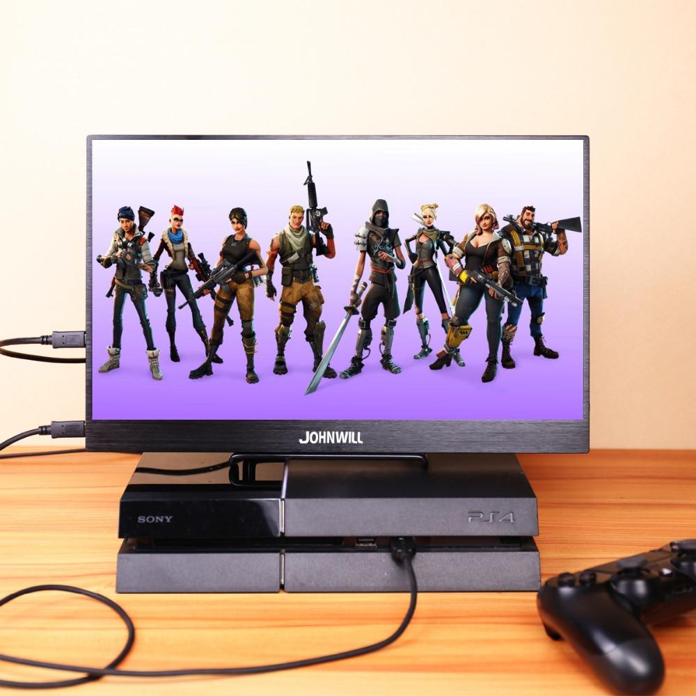 13.3 pouces IPS HD moniteur Portable 2 type-c USB HDMI Interface de jeu écran d'ordinateur 1920*1080 résolution écran LED pour PS3/4