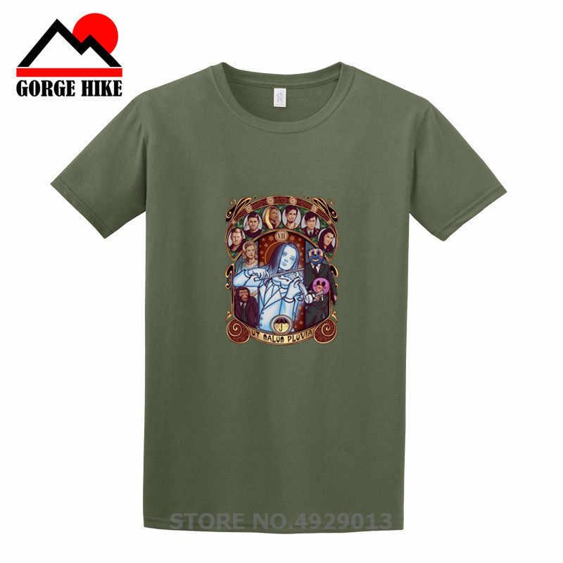 Baru Klasik Payung Nouveau Academy Hargreaves T-shirt Klaus Vanya Putih Biola Dijual T Shirt Pria Desain Baru Tshirt Tees